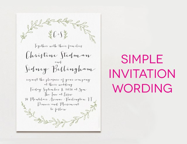 Wording Wedding Invitations Wedding Invitations Wording Perfect Day Weddings