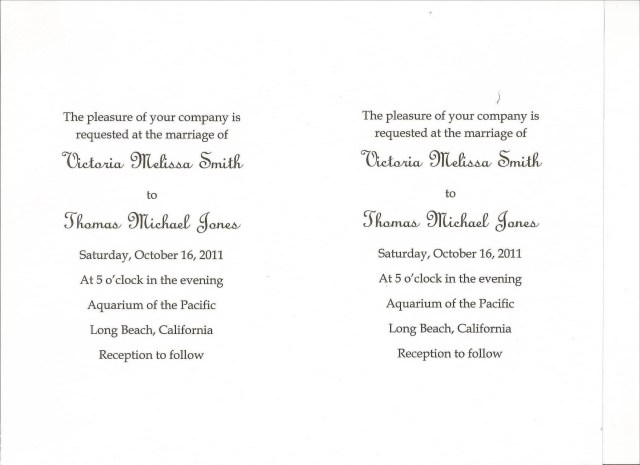 Words To Put On A Wedding Invitation Diy Wedding Invitations Simple Wedding Invitations Using Microsoft Word