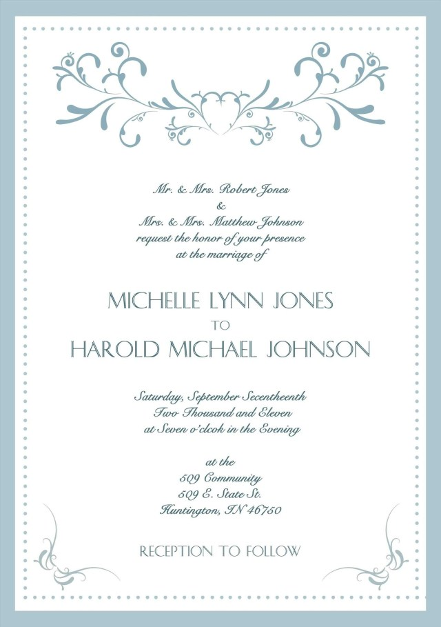 Words To Put On A Wedding Invitation Lovely Formal Wedding Invitation Wording Cars In 2019 Pinterest