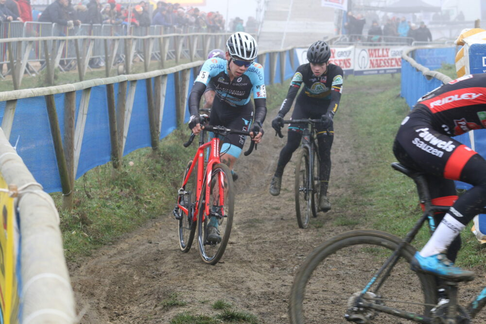 Ferre Geeraerts is aan A-crossen toe