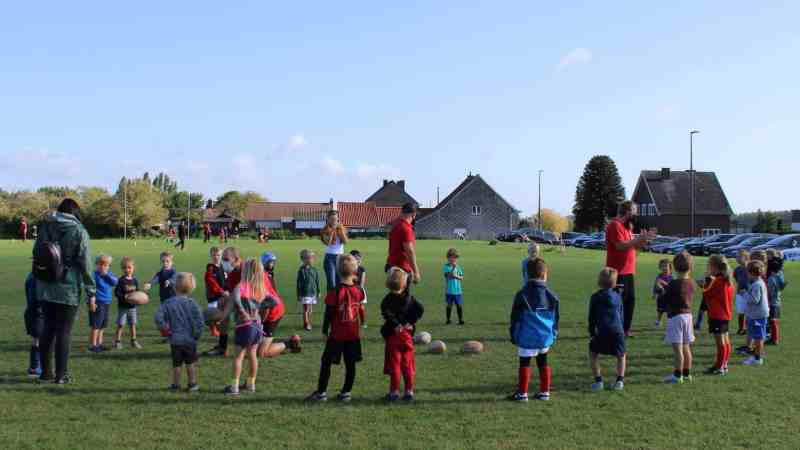 Initiatie Rugby Club Pajot was succes