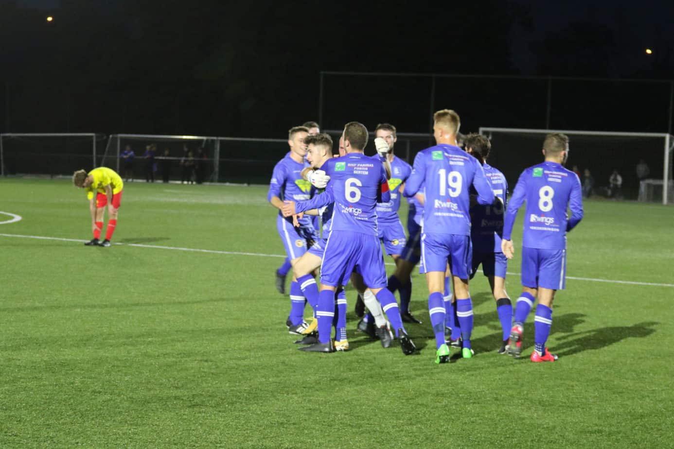 Jorne Vanderstappen beleeft mooiste moment uit voetbalcarrière