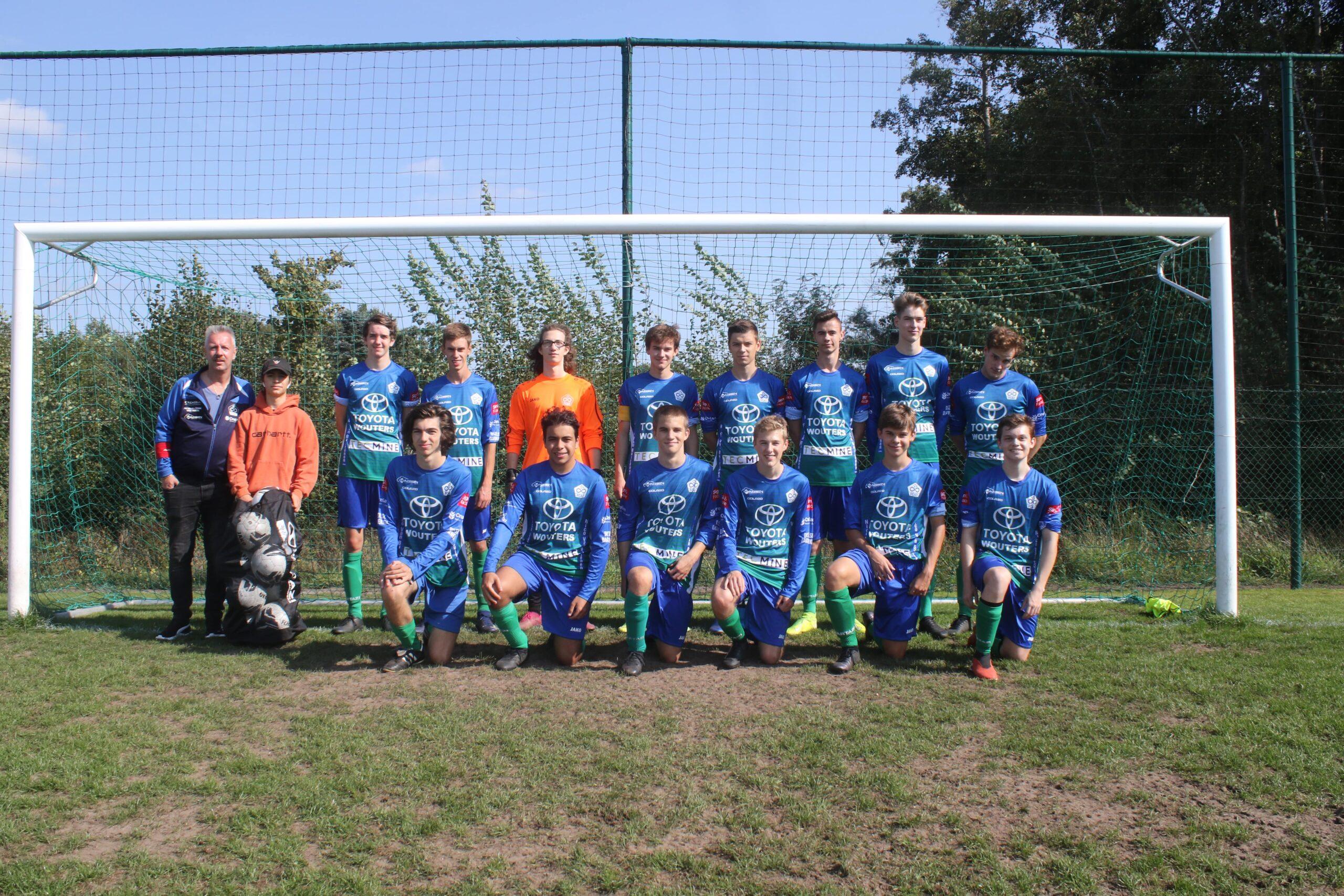 U21 FC Averbode-Okselaar hebben doorgroeimogelijkheden