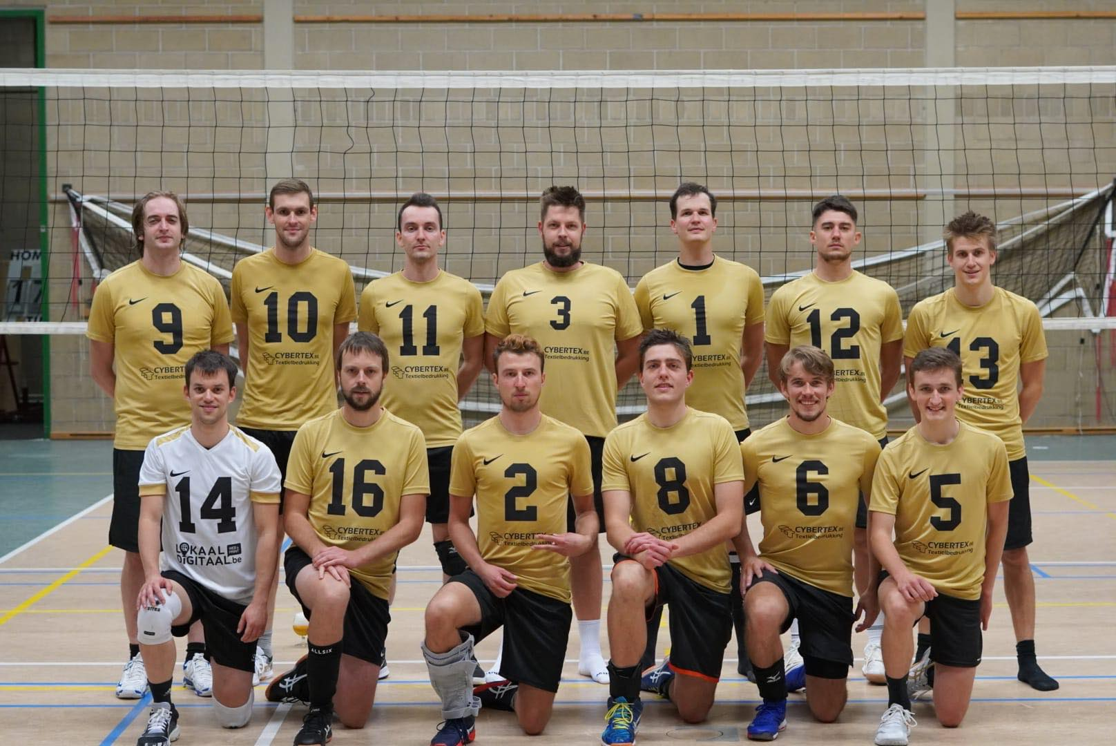 De Golden Boys uit Wijgmaal missen hun start niet