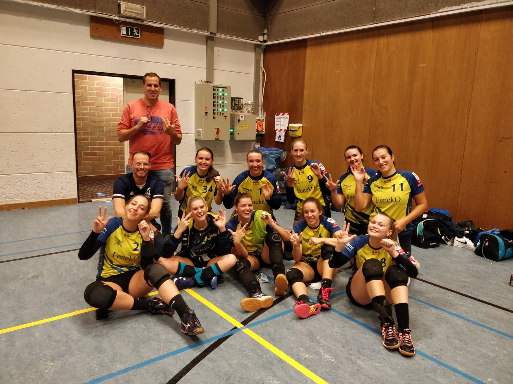 Promovendus VC Wolvertem Sporting gooit hoge ogen in competitie