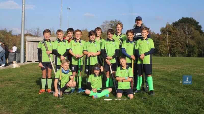 U14 boys Merode Grimbergen staan tweede in hun reeks