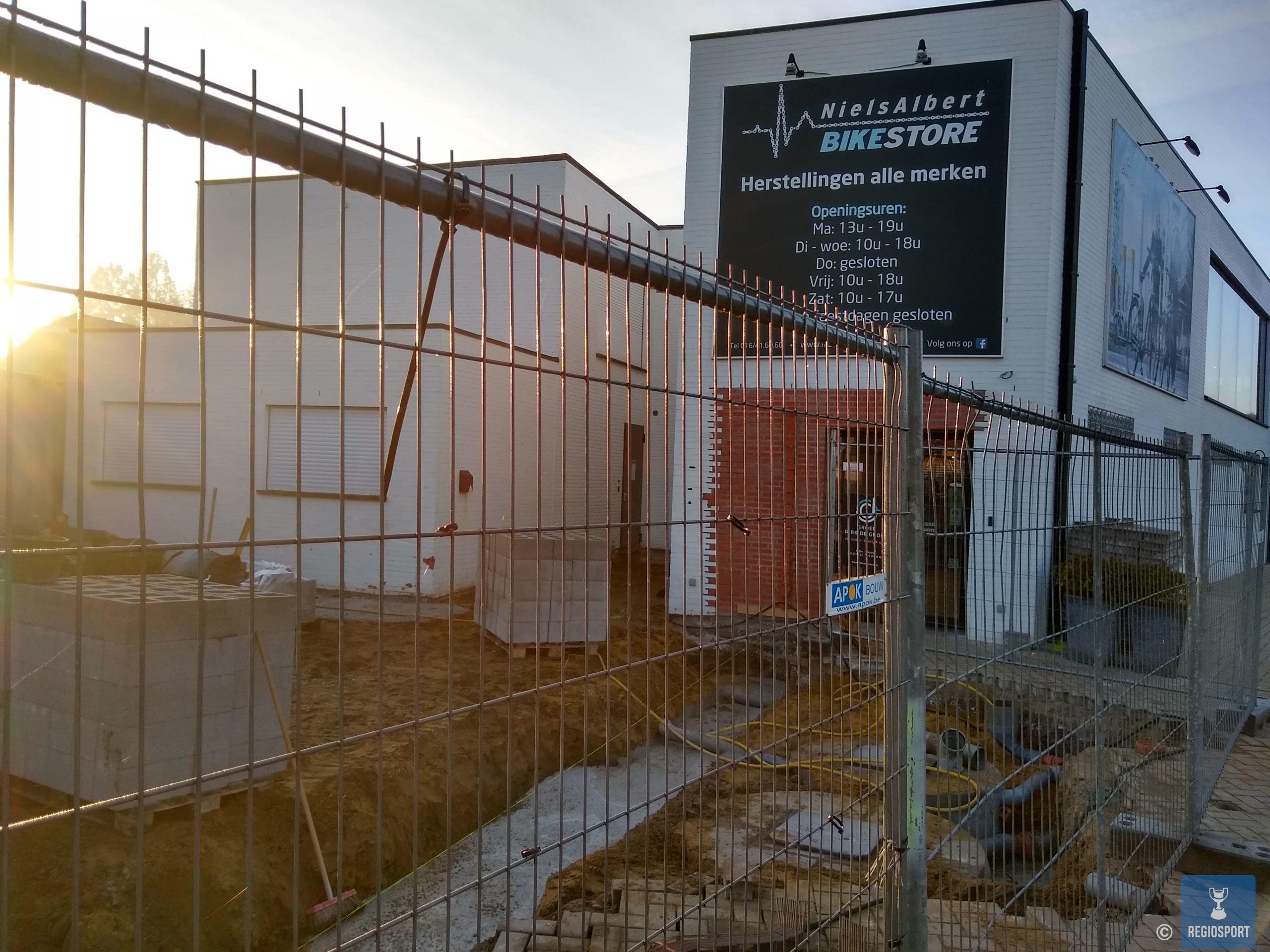 De Niels Albert Bike Store in volle verbouwing!