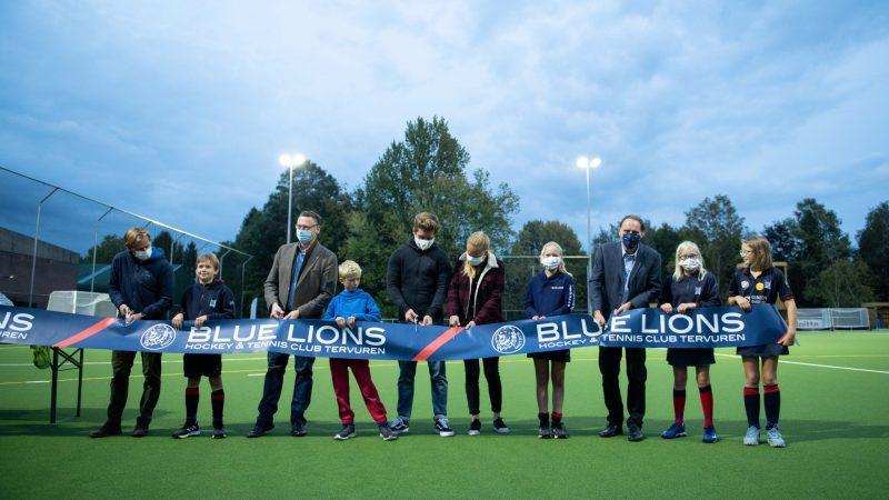 2020 bracht de Blue Lions een verhuis, een tennisclub én een nieuw hockeyveld