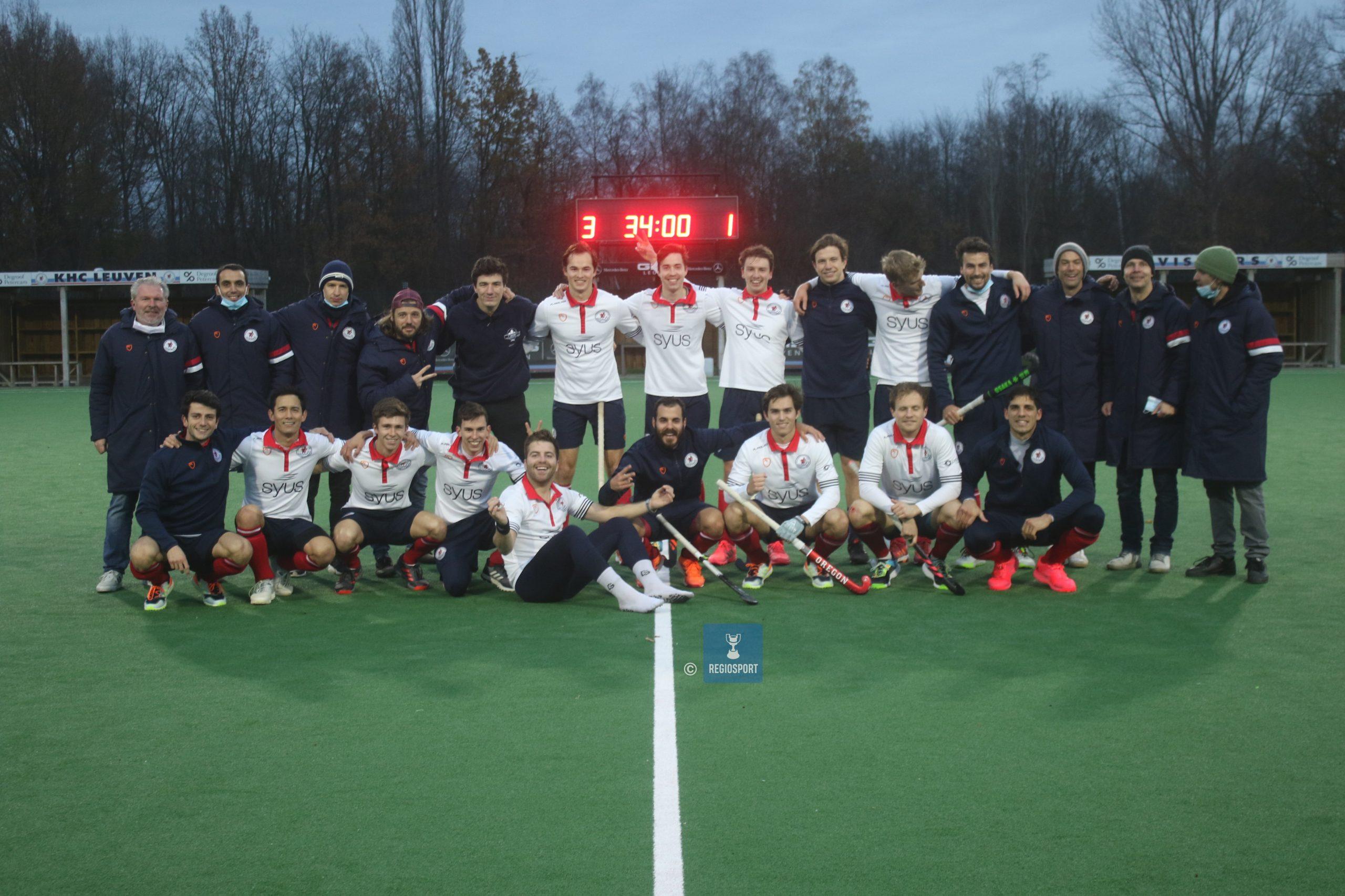 KHC Leuven klopt Antwerp na donderpreek van coach Trenchs