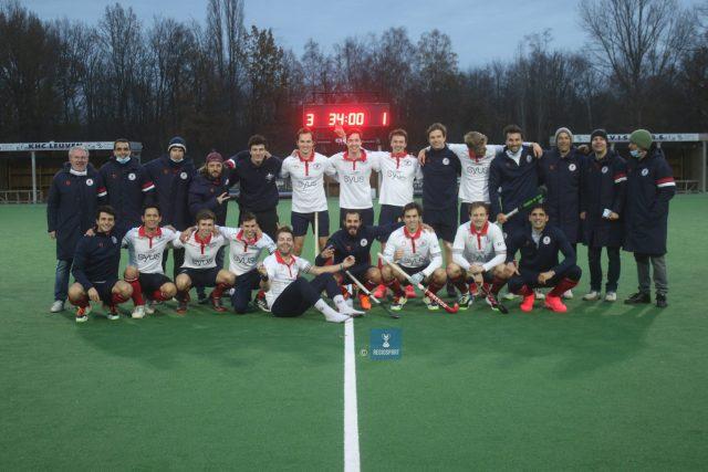 Bij KHC Leuven waren ze blij met de 3-1
