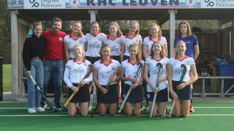 U19 girls KHC Leuven mikken op top zes