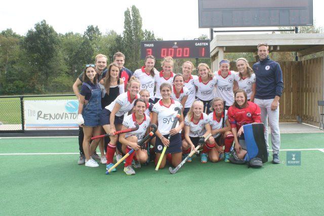Doelvrouw Tack belandde met KHC Leuven in 2018 in de halve finales van de play offs