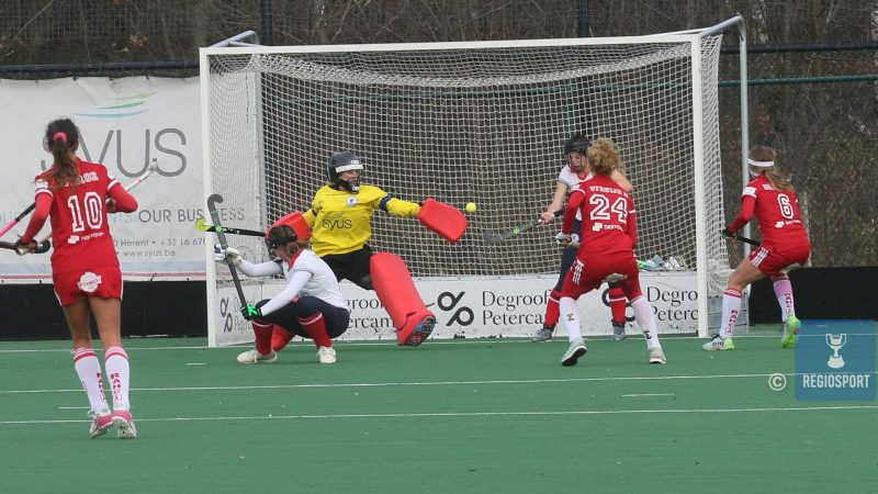 Antwerpse hockeyvrouwen op ervaring voorbij Leuven