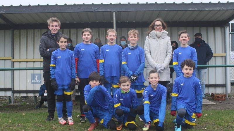 Teamgeest primeert bij U12 KFC Putte