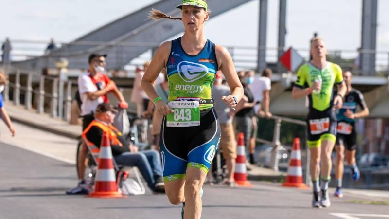 Opnieuw een knieletsel voor triatlete Deborah Van Gossum