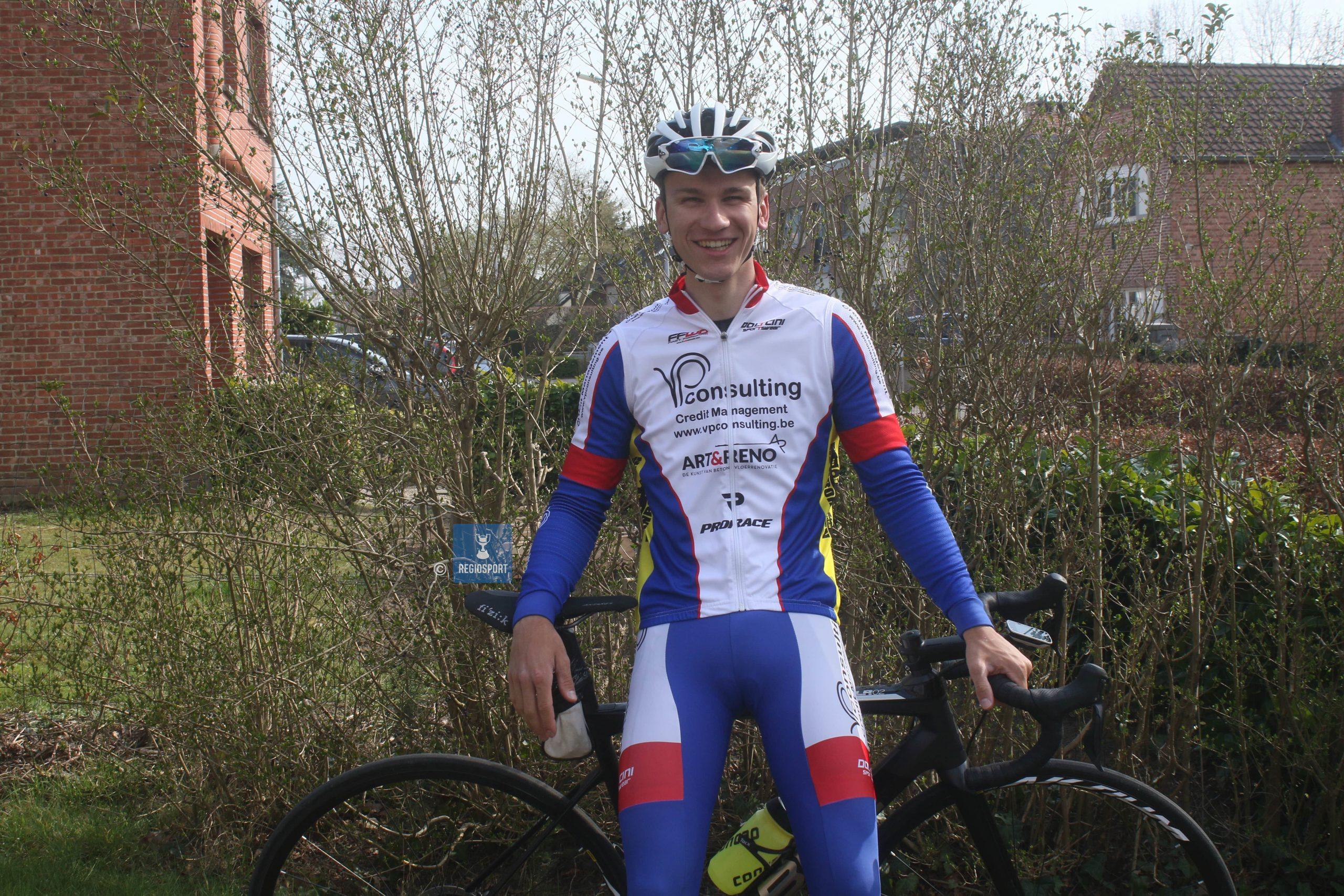 Derdejaarsbelofte Jens Clynhens wil het maximale uit zijn wielercarrière halen