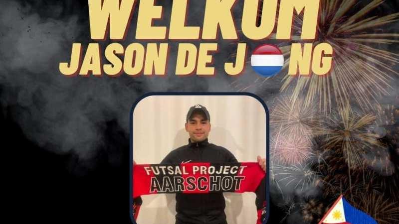 Filipijns international Jason De Jong waagt zich aan futsalavontuur bij FP Aarschot