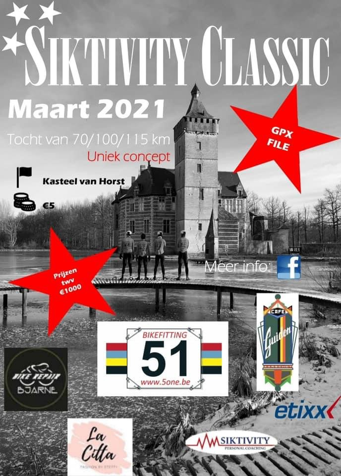 Je kan nog tien dagen de Siktivity Classic rijden!