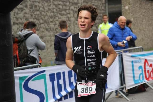 Zijn studies betekenden het einde van zijn triatlonloopbaan