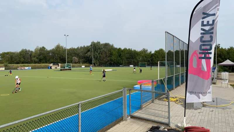 Hockey in Hoegaarden start weldra met aanleg van twee hockeyvelden. Op die ondergrond spelen de nationale teams!