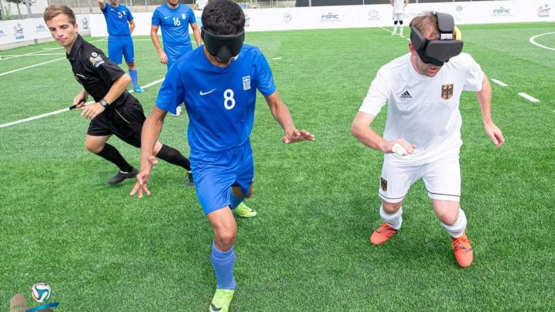 Blindenvoetbal wacht in België op erkenning
