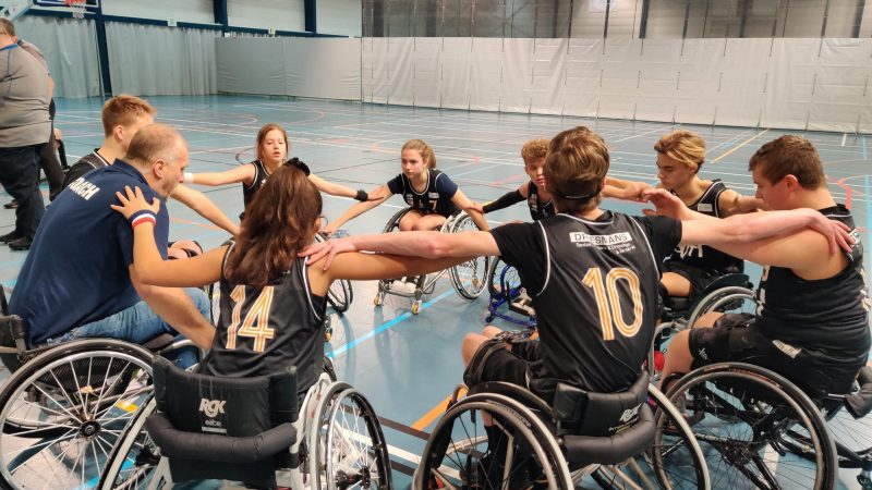 Leuven zal aankoop G-sport materiaal financieel ondersteunen. Junior Bears on Wheels in beeld!