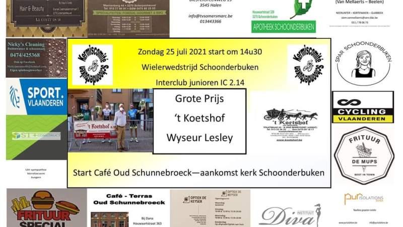 Juniorendriedaagse van Vermarc Sport doet Nieuwrode, Liedekerke en Schoonderbuken aan