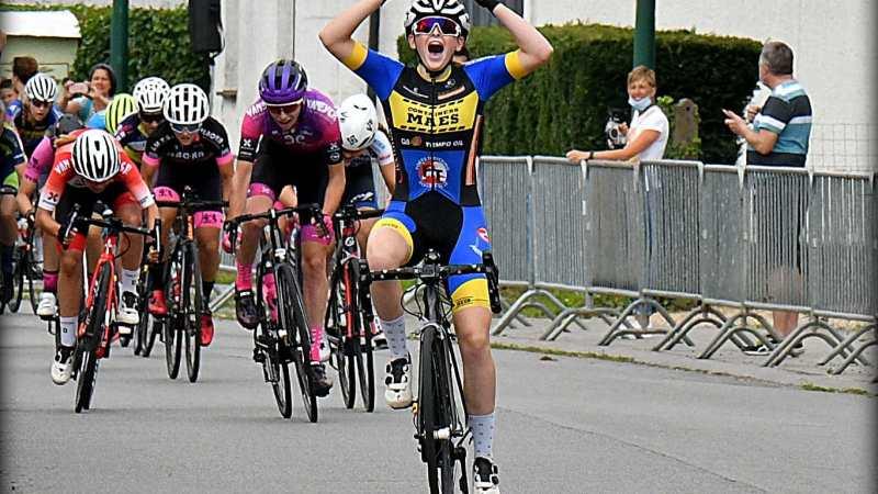 Ella Heremans is voortaan Belgisch kampioene bij de nieuwelingen!