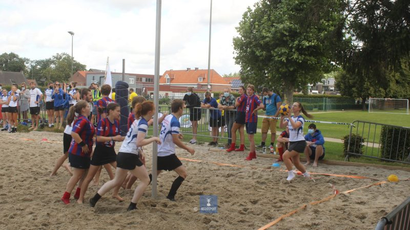 KCBJ Betekom tevreden over verloop van eerste beachkorfbalmanche
