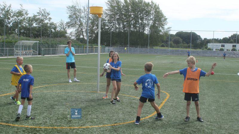 Vijf lagere scholen spelen korfbal in Betekom!