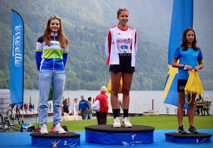 Alexe De Raedemaeker (15) snelt naar zilver in X-Terra Italië