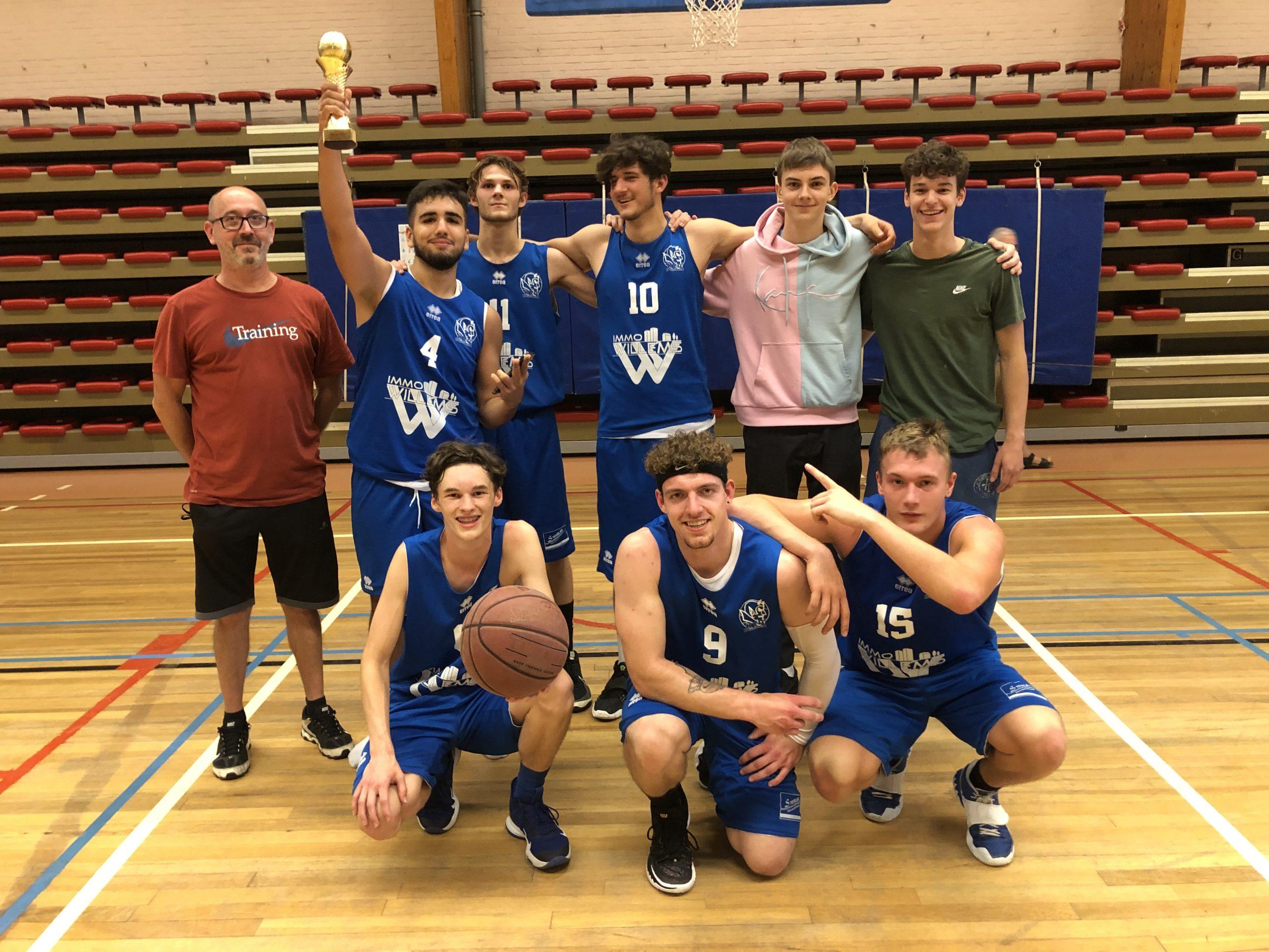 U21 Kortenberg Young Devils winnen 'Remember Stewart' basketbaltornooi