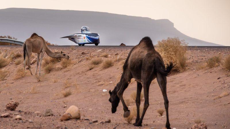 Belgisch Solar Team wint eerste etappe in Marokko