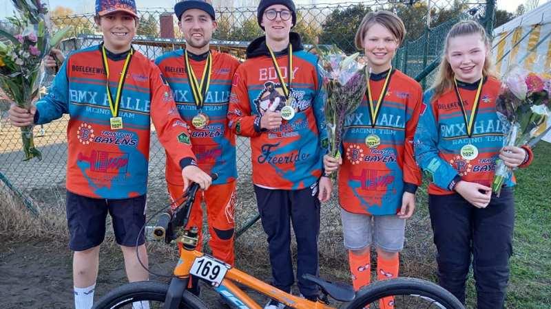 BMX Halle pakt vier provinciale titels