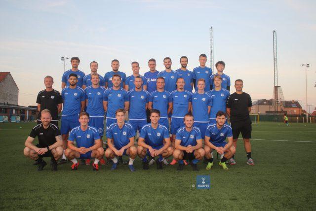 KV Tervuren-Duisburg tijdens hun voorbereiding