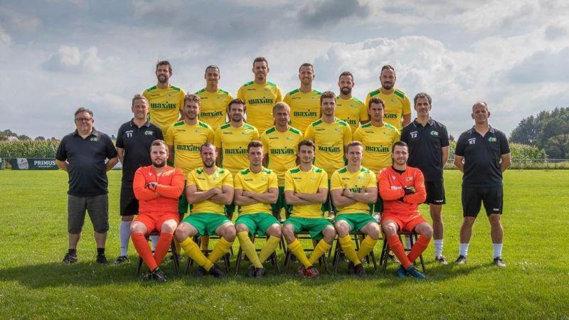 Derdeprovincialer FC Tildonk staat voorlopig op kop met 18 op 21