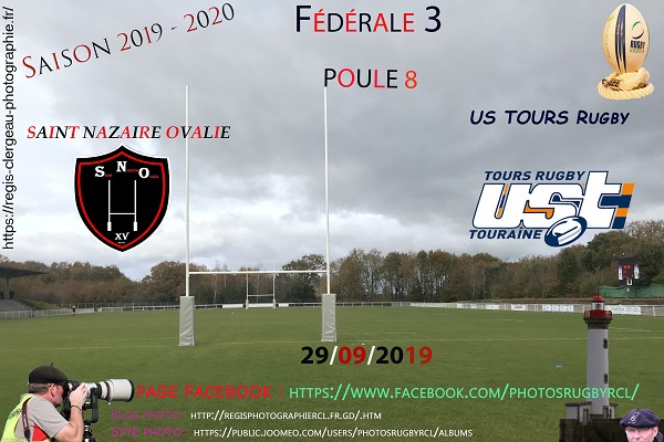 29-09-19 F3 Saint Nazaire Ovalie – US TOURS Rugby N° 23 pica