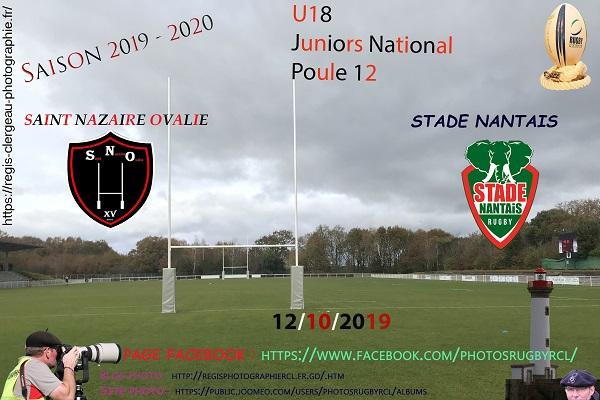 12-10-18 U18 Stade Nantais – Saint Nazaire Ovalie N°4 Pica