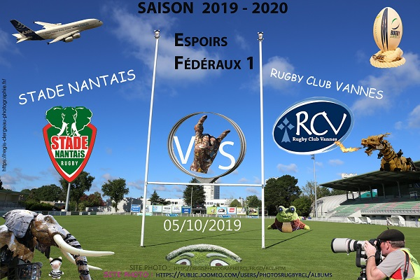05-10-19 ESPOIRS F1 Stade Nantais – RC Vannes N°1 Pica