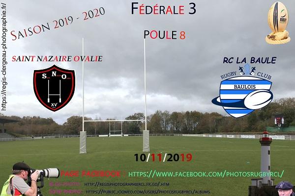 10-11-19 F3 Rugby Club La Baule – Saint Nazaire Ovalie N° 15 Pica