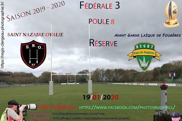 19-01-20 Réserve Saint Nazaire – Avant Garde Laïque de Fougères N°10 Pica