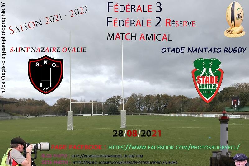 28-08-21 F3-F2B Amical Saint Nazaire Ovalie – Stade Nantais réserve N°6 Pica