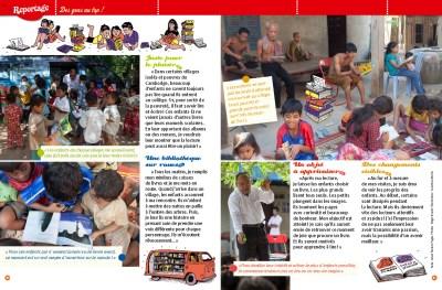 """Kim Ney, un chauffeur plein d'histoires"" - Cambodia - Magazine Filotéo, Edition Bayard - 2014"