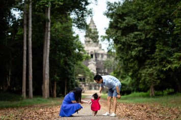 My first steps in Angkor Wat
