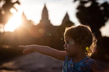 Early light in Angkor Wat