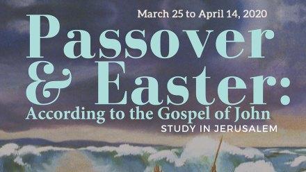 Passover 2020 Calendar.Passover Easter According To The Gospel Of John 2020 Regis College