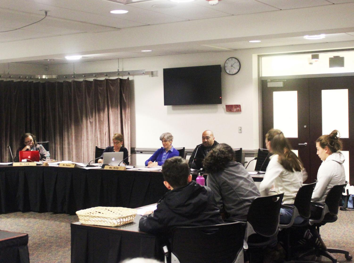 The School Committee discussed the AV policy on December 5th.