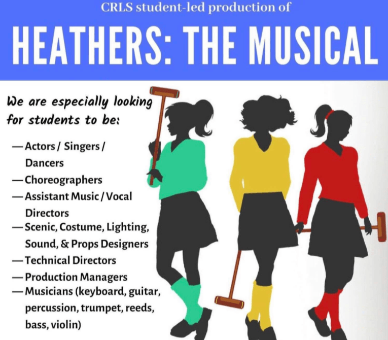%22Heathers%22+is+a+student-run+musical+debuting+on+May+31st.