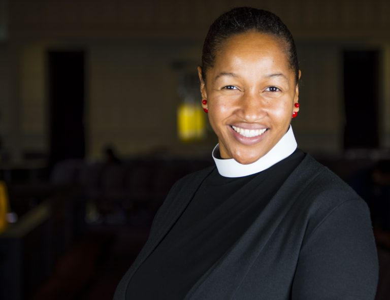 Rev.+Mariama+White-Hammond+spoke+at+the+CRLS+Climate+Change+Initiative+assembly.+