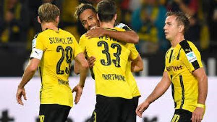 Gol Tunggal Aubameyang Sukseskan Kemenangan Dortmund atas Bayern